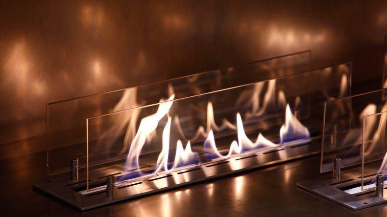 Kaminfeuer im Ostseehotel Dierhagen