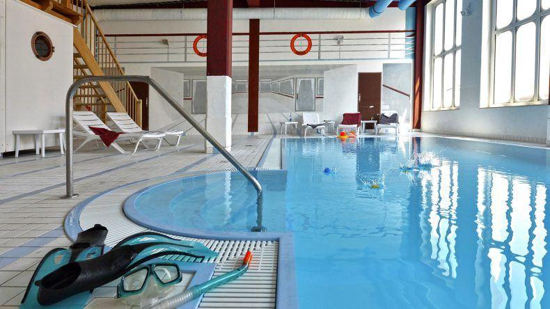 Pool im Kapitäns-Häuser Hotel