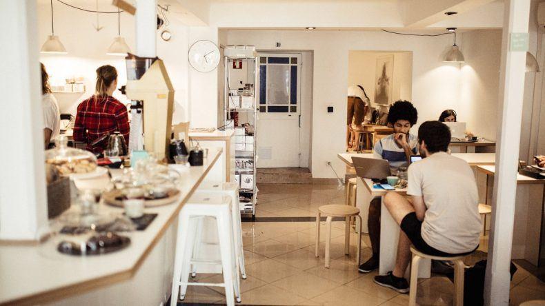 Inneneinrichtung Copenhagen Coffee Lab (Fotocredit: Herz und Blut)