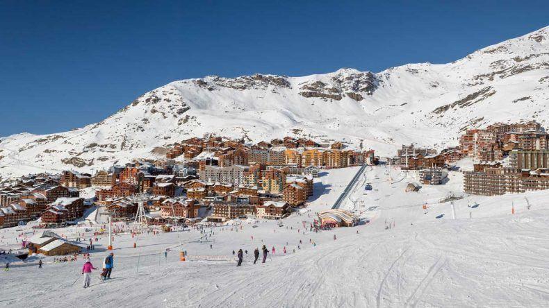 Das größte Skigebiet der Welt: Les Trois Vallées in Frankreich