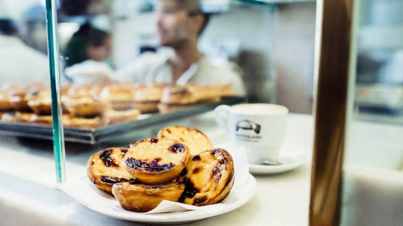 Die leckeren Pastéis de Nata in der Manteigaria (Fotocredit: Herz und Blut)
