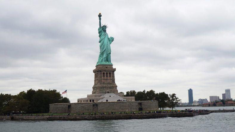 New York, Liberty Island, Freiheitsstatue