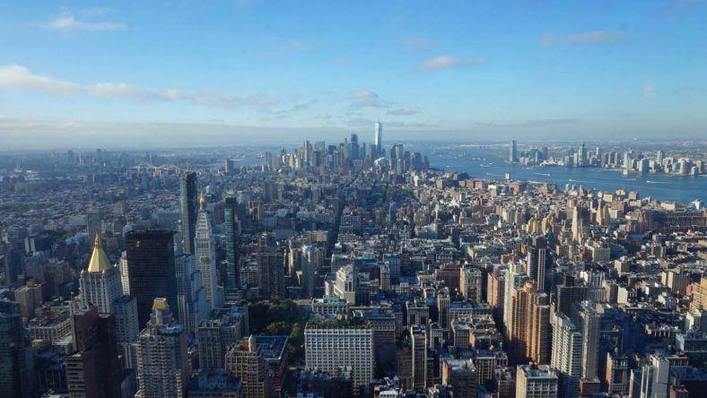 New York, Empire State Bulding, Skyline