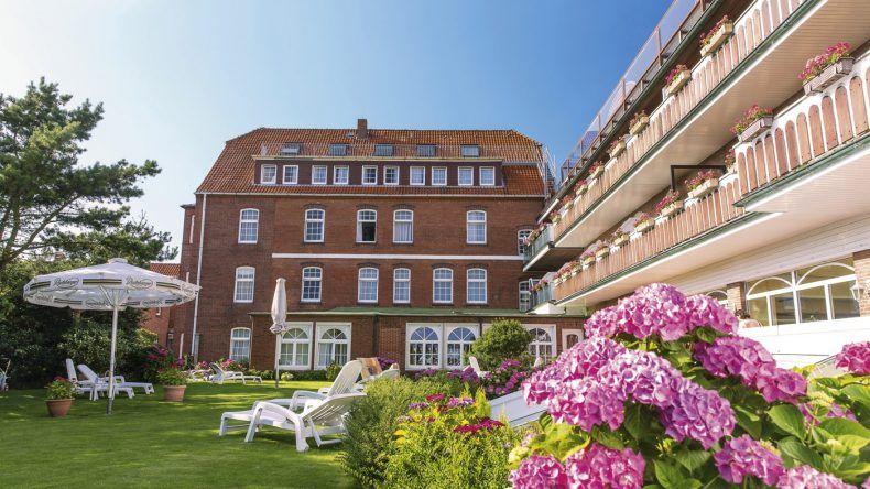 Nordseehotel Freese von außen