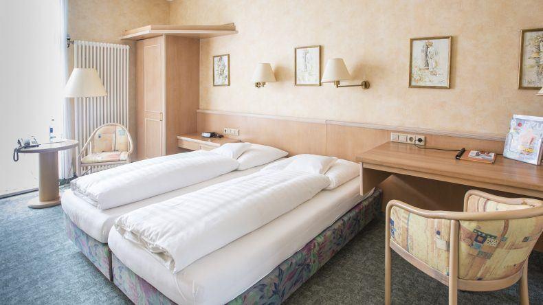 Zimmerbeispiel Nordseehotel Freese