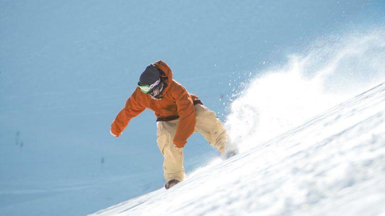 Snowboarden in Frankreich