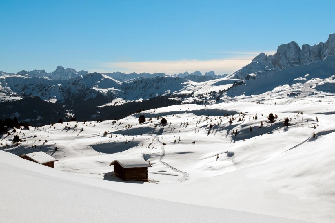 Winterwunderland Seiseralm