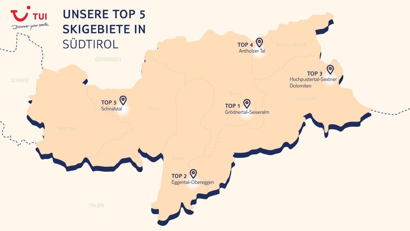 Skiurlaub Südtirol Top Skiregionen Für Dolce Vita Im Schnee Tui