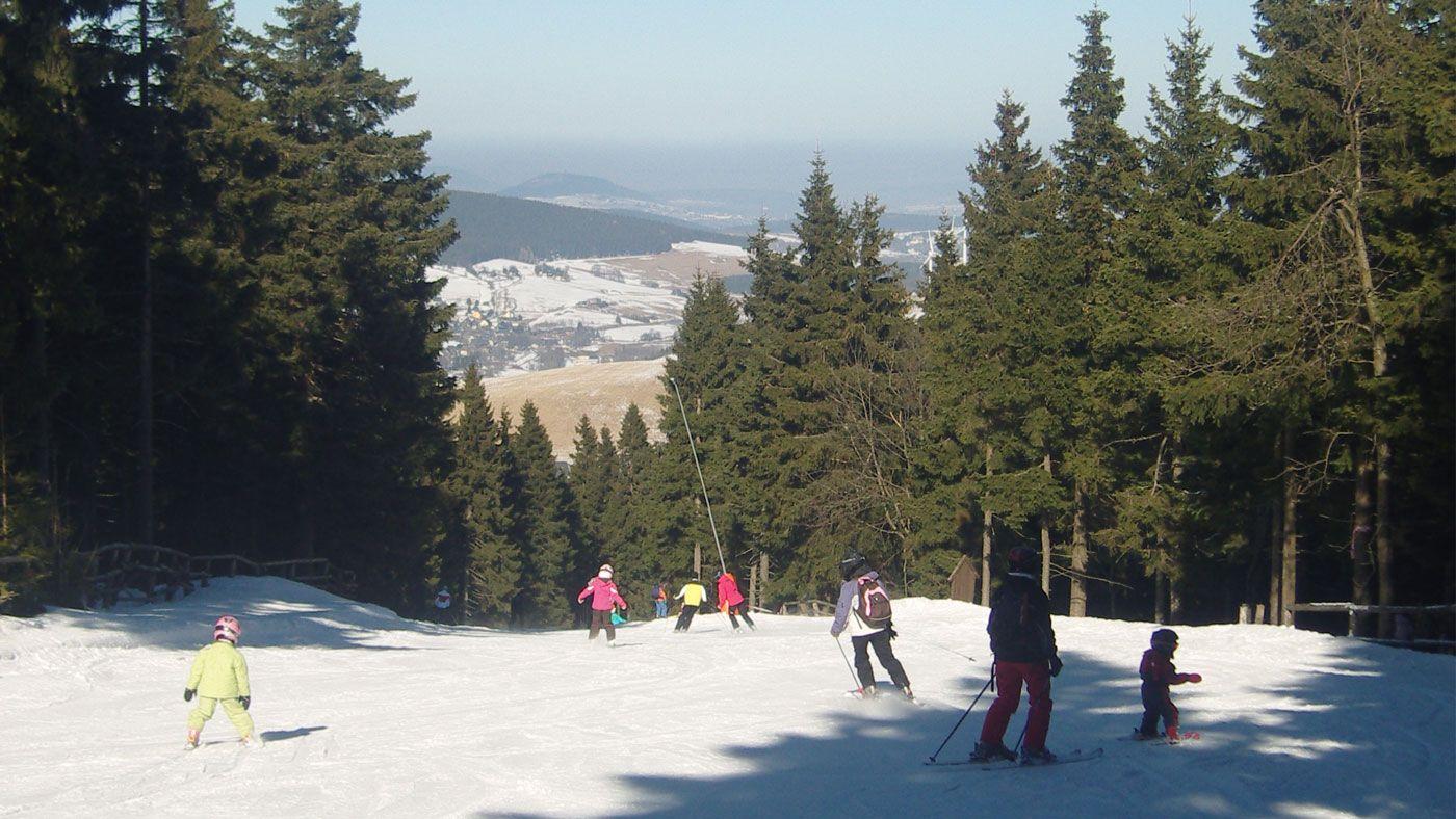 Tschechien Skigebiet: Lipno Kramolin