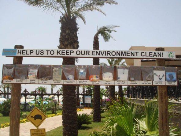 Nicht umsonst eines der TUI Umwelt Champions 2016: Das TUI Blue Palm Garden