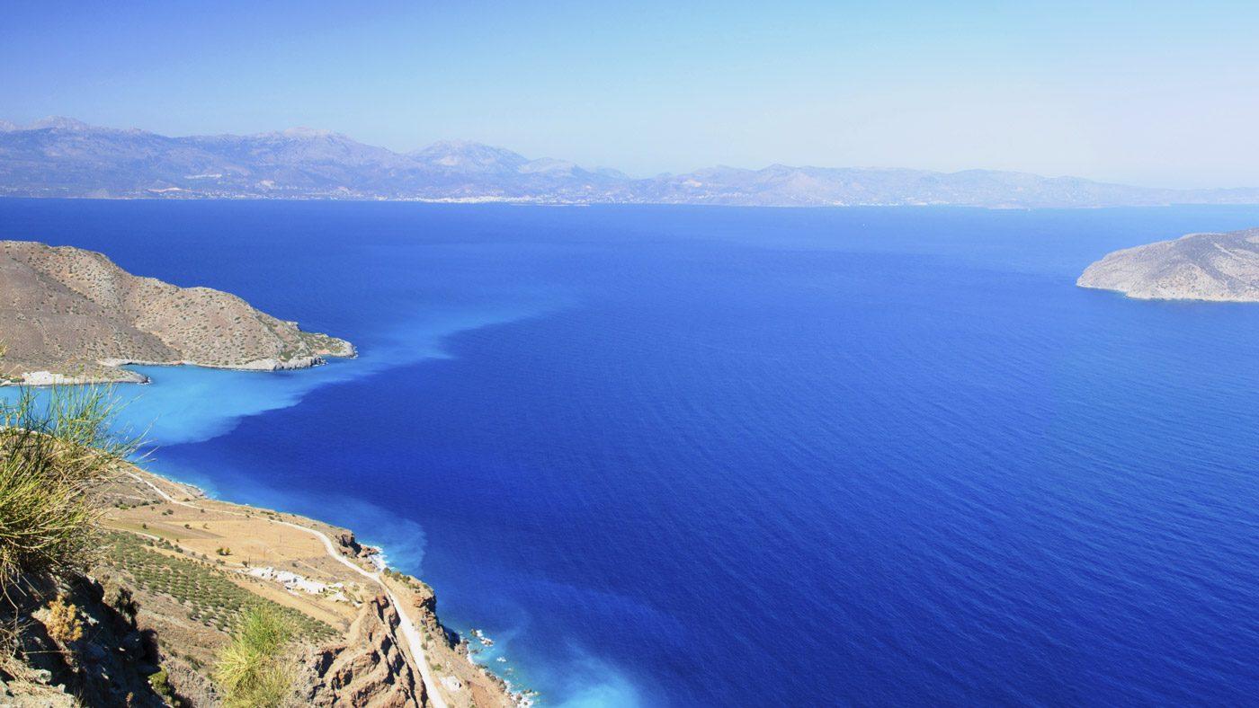 Aussicht auf Kreta