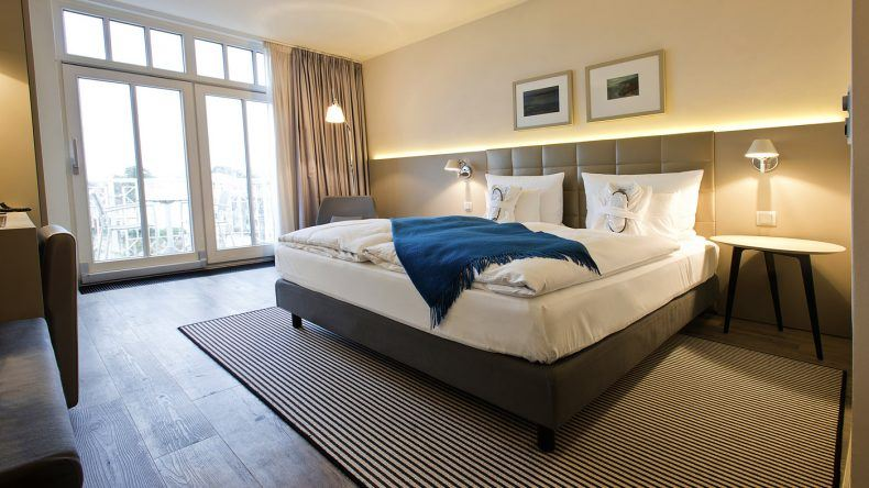 Zimmerbeispiel im Hotel am Meer & SPA