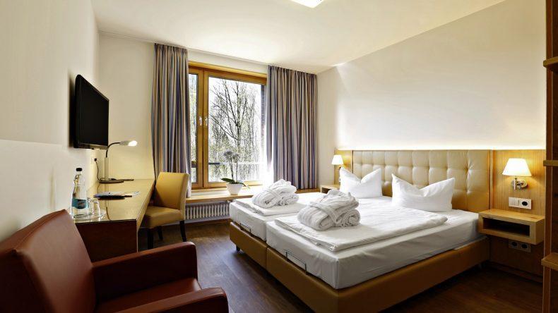 Zimmerbeispiel im Ostseehotel Dierhagen