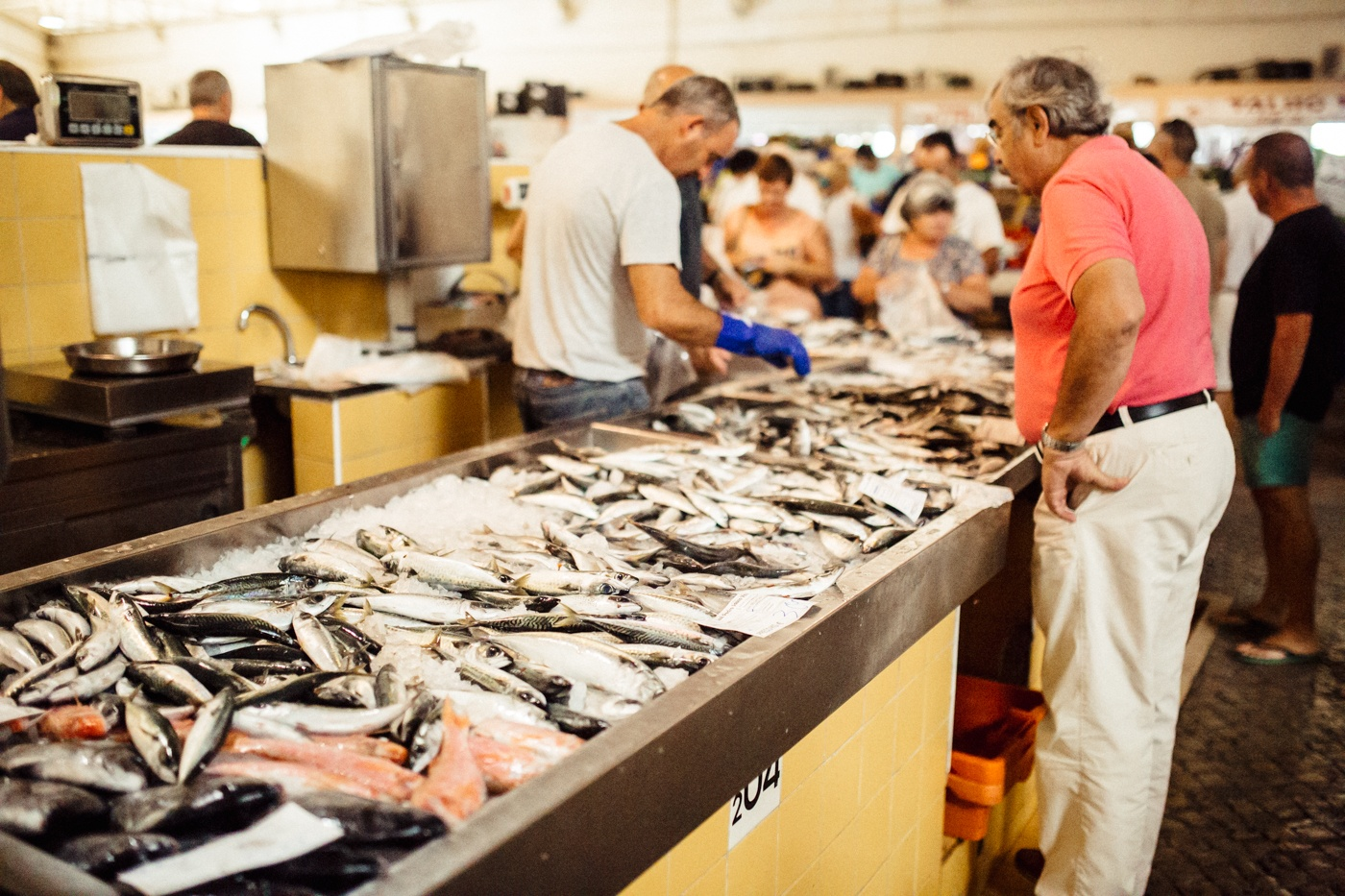 Frischer Fisch vom Markt (Fotocredit herzundblut)