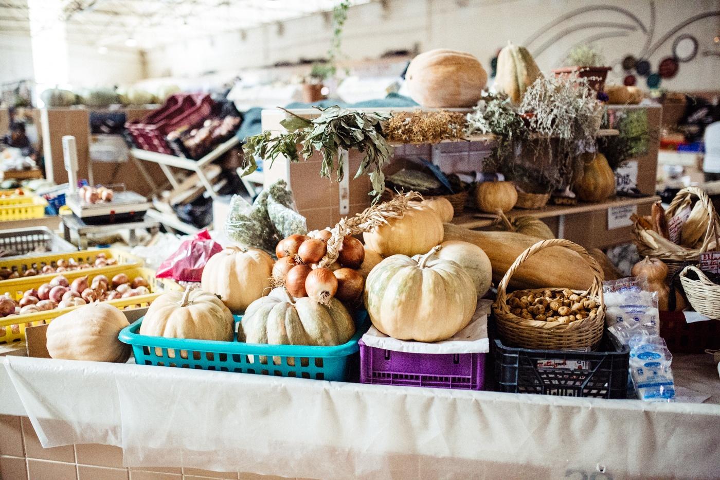 Algarve: Gemüsemarkt