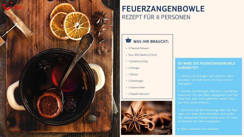Rezept Feuerzangenbowle