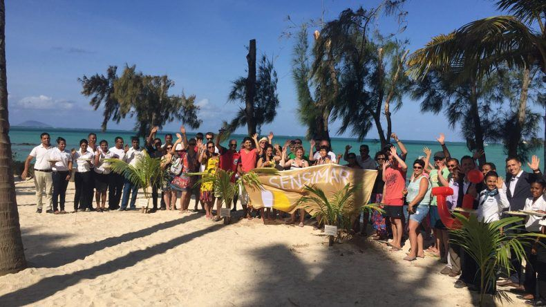 Die Mitarbeiter des SENSIMAR Lagoon Mauritius