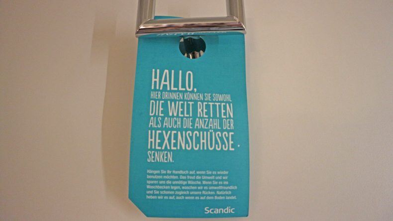 Das Scandic Berlin Kurfürstendamm bemüht sich um Nachhaltigkeit