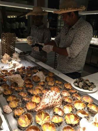 Muscheln im SENSIMAR Lagoon Mauritius