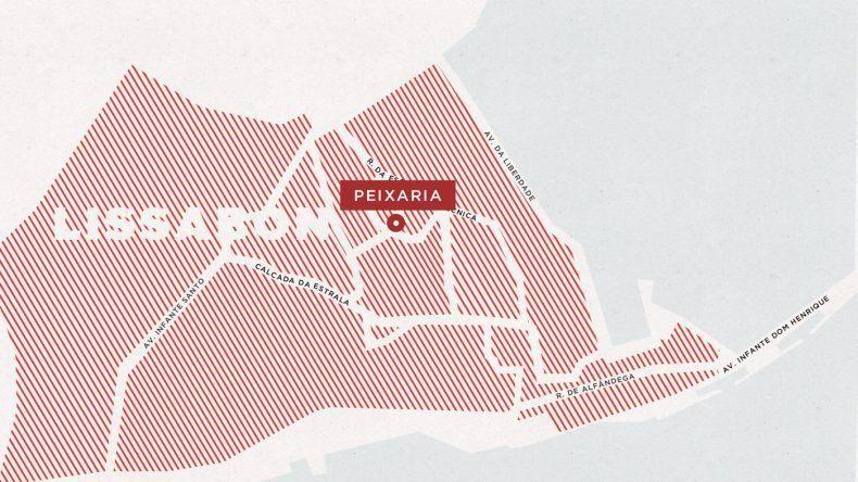 Karte Peixaria