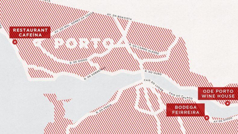 Karte Portwein