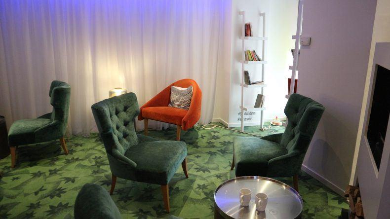 Lobby im Scandic Kurfürstendamm