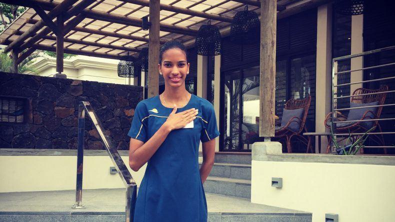 Begrüßung im SENSIMAR Lagoon Mauritius
