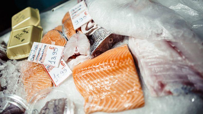 Hier gibt es frischen Fisch! (Fotocredit: Herz und Blut)
