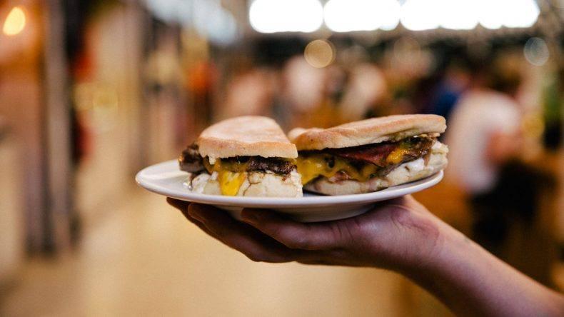 Sanwich im o Prego da Peixaria