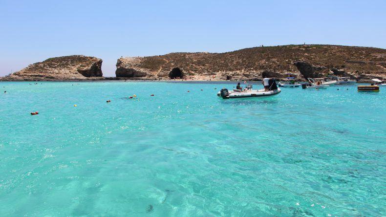 Reiseziele 2017: Malta - Bucht Blue Lagoon, Insel Comino