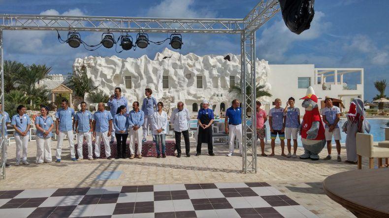 Das Leiterteam des ROBINSON Club Djerba Bahiya