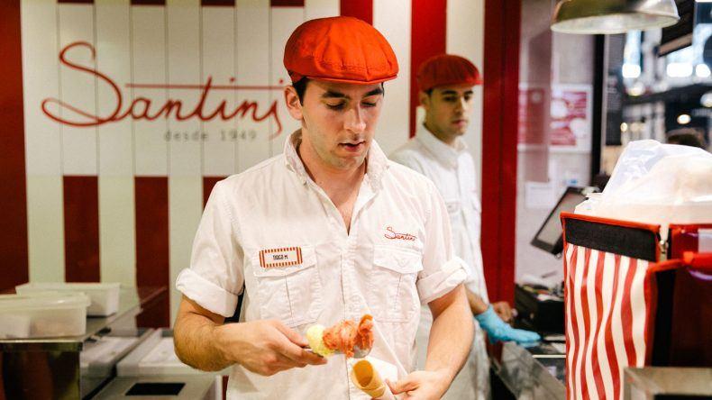 Die leckersten Eiskreationen auf dem Time Out Market gibt es bei Santini (Copyright: ohhedwig)
