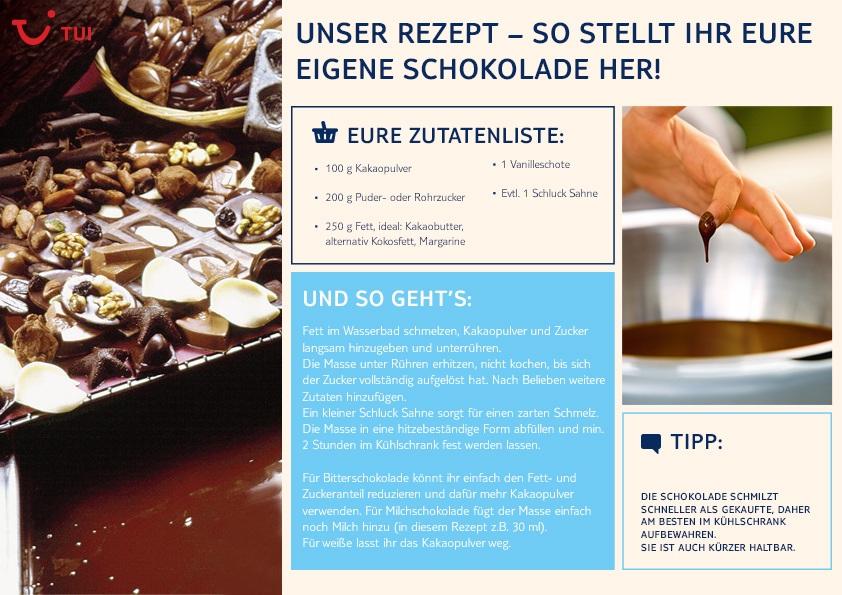 Rezept: Schokolade selber machen