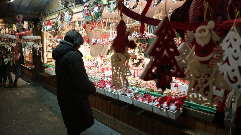 Stände auf dem Wiener Christkindlmarkt