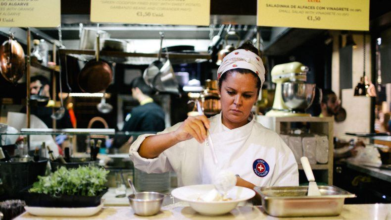 Susana Felicidade auf dem Time Out Market