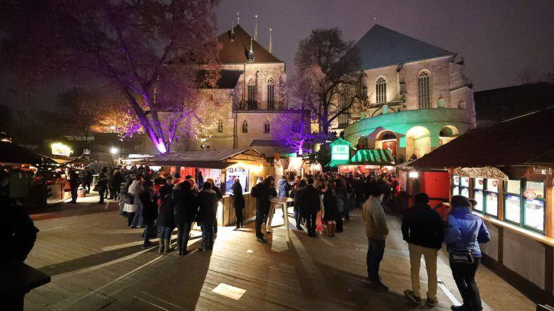 Mittelalterlicher Adventsmarkt © Matthias Schmidt
