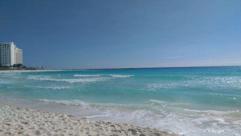 Cancuns langer Sandstrand
