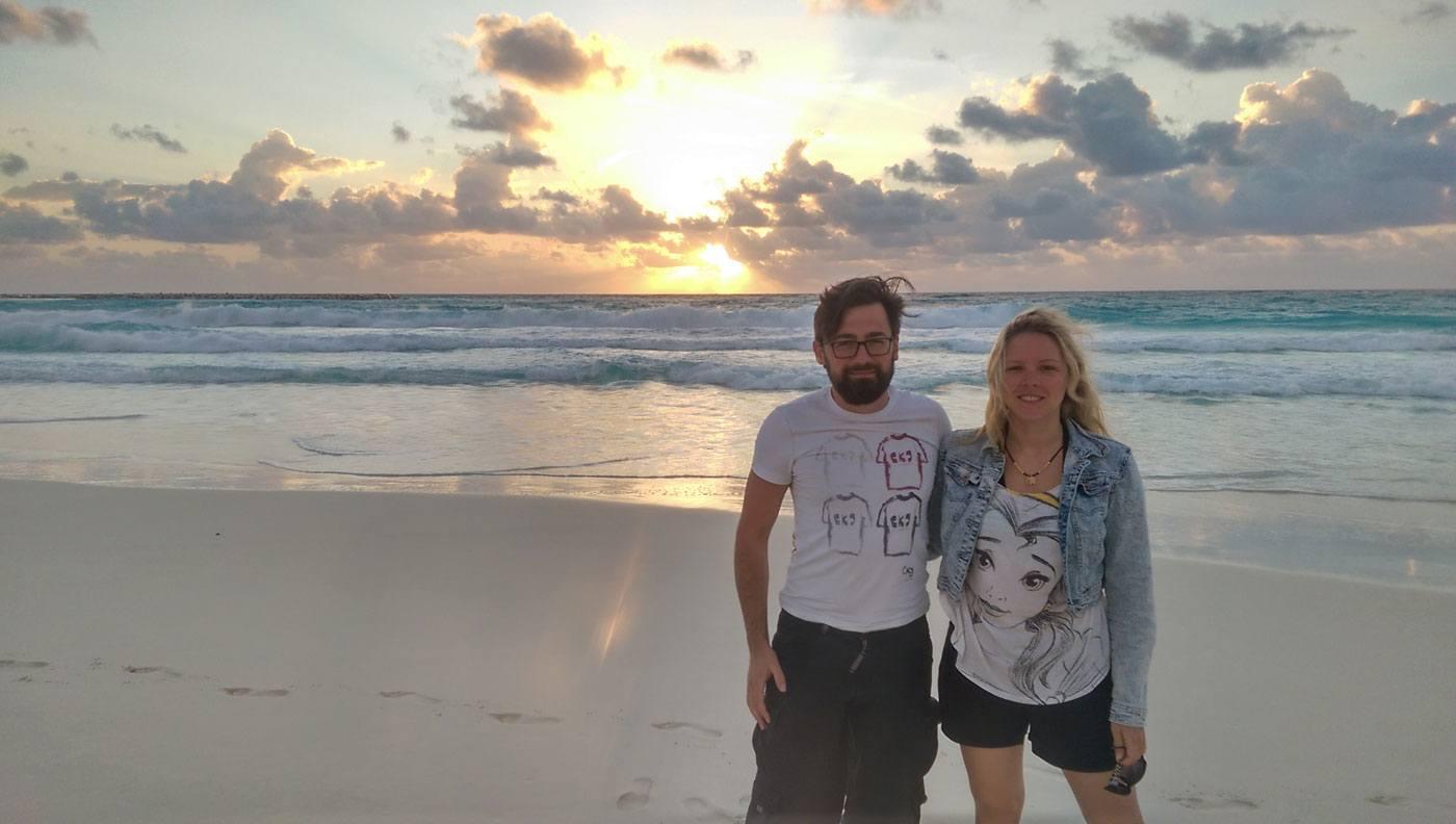 Sonnenaufgang in Cancun