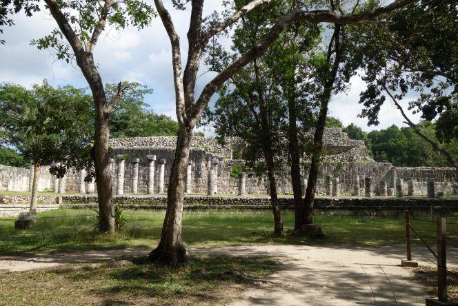 Chichén Itzá: Halle der 1000 Säulen