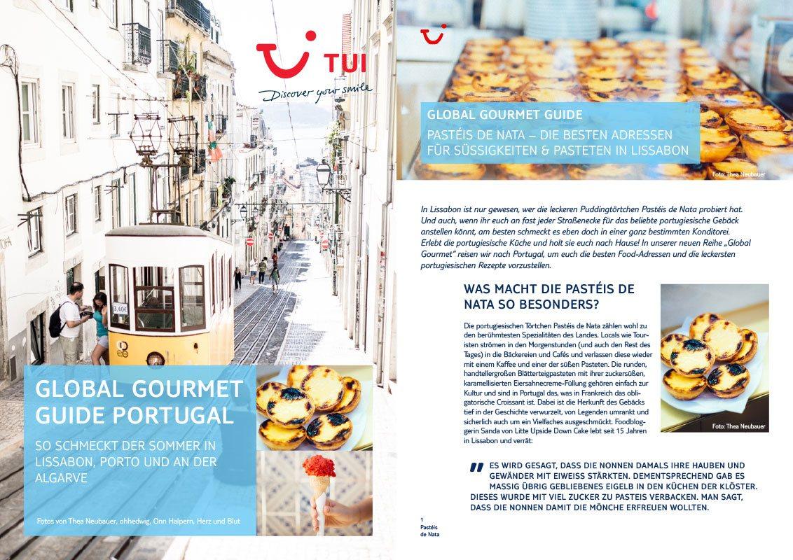 Global Gourmet Guide Portugal