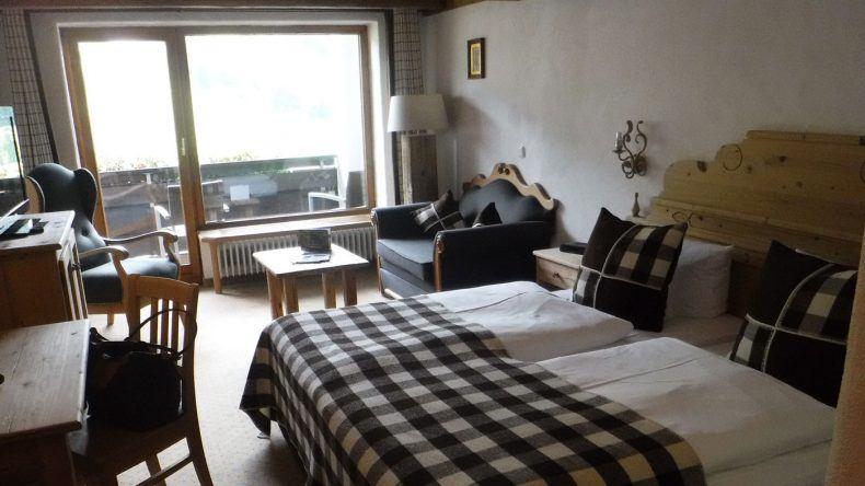 Unser Doppelzimmer im Hotel Lanig Resort und Spa