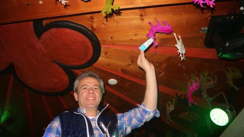 Auch Hoteldirektor Klaus vom TUI BLUE PULSE Schladming hat einen Hirschen geschossen