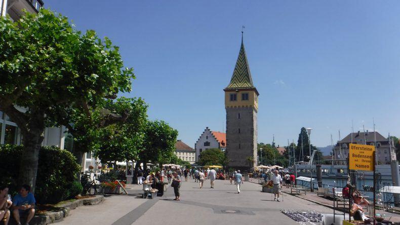 Die Promenade in Lindau