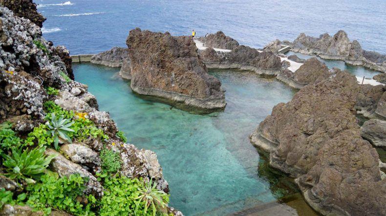 Türkises, kristallklares Meer erwartet euch auf Madeira