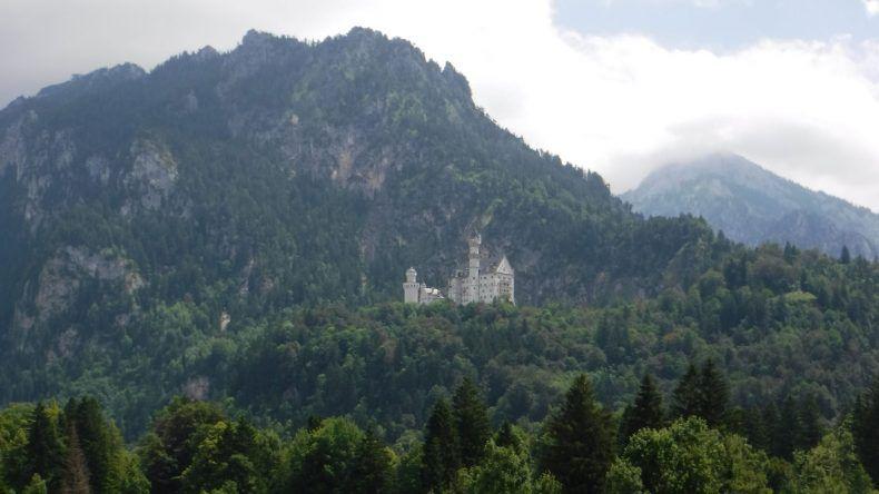 Ein beliebtes Fotomotiv: Das Schloss Neuschwanstein