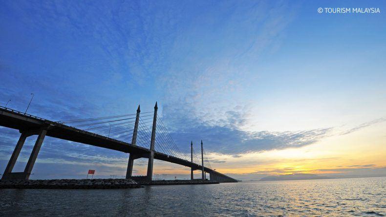 Beeindruckend: Die Penang Bridge