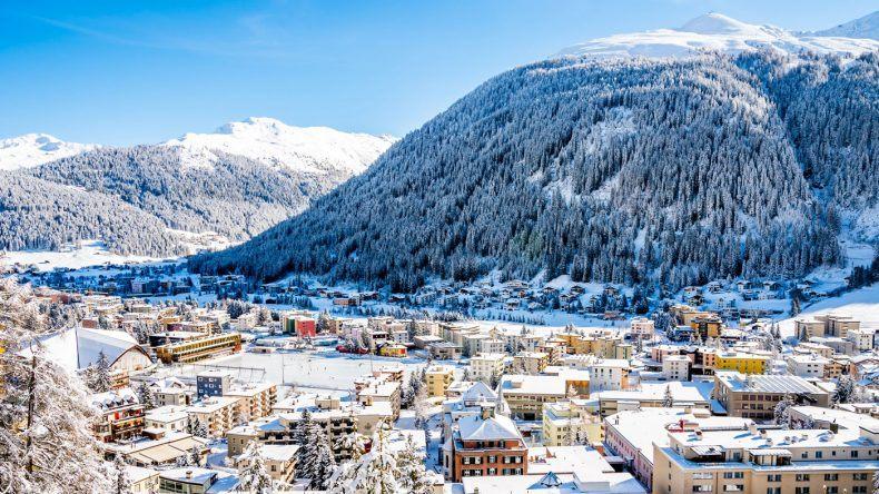 Skigebiet Davos in der Schweiz (Copyright: Boris-B/Shutterstock)
