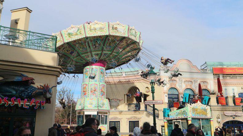 Für Kinder das absolute Highlight: Der Freizeitpark in Wien