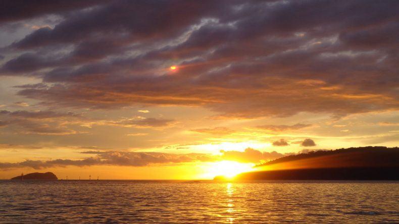 Kota Kinabalu Sonnenuntergang
