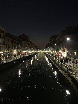 Mailand bei Nacht